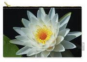 White Pond Lily Carry-all Pouch