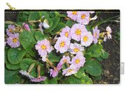 White Primroses Carry-all Pouch