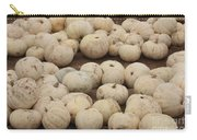 White Pumpkins Carry-all Pouch