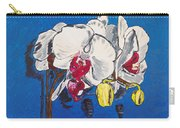 White Purple Phalaenopsis Orchids Carry-all Pouch