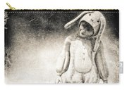 White Rabbit Carry-all Pouch by Bob Orsillo