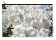 White Rhododendrons Flowers Art Prints Baslee Troutman Carry-all Pouch