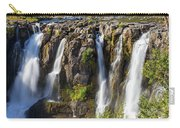 White River Falls In Tygh Valley Carry-all Pouch