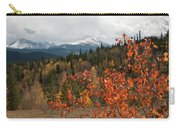 White River National Forest Autumn Panorama Carry-all Pouch