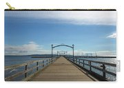 White Rock Pier Moorage In Bc Canada Carry-all Pouch