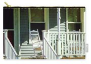 White Rocking Chairs Carry-all Pouch