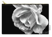 White Rose Aglow Carry-all Pouch