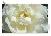 White Rose Art Prints Summer Sunlit Roses Baslee Troutman Carry-all Pouch