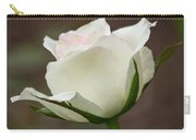 White Rose Bud 2 Carry-all Pouch