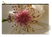 White Rose Centerpiece Carry-all Pouch
