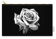 White Rose Carry-all Pouch by Melodye Whitaker