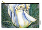 White Rose One Carry-all Pouch