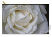 White Rose2 Carry-all Pouch