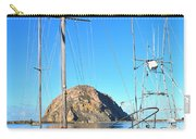 White Sail Boat Morro Rock  Carry-all Pouch