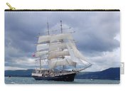 White Sails Carry-all Pouch