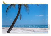 White Sand Beaches And Tropical Blue Skies Carry-all Pouch