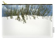 White Sand Green Grass Blue Sky Carry-all Pouch