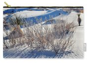 White Sands Shadows Carry-all Pouch