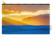 White Sands Sunset 2 Carry-all Pouch