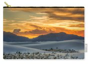 White Sands Sunset - 4 - New Mexico Carry-all Pouch