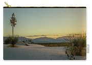 White Sands Sunset Carry-all Pouch