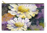 White Scabious Carry-all Pouch