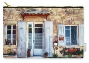 White Shutters Carry-all Pouch