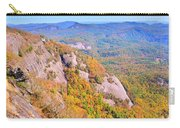 White Side Mountain Fool's Rock In Autumn Carry-all Pouch