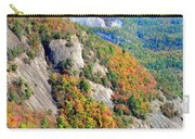 White Side Mountain Fool's Rock In Autumn Vertical Carry-all Pouch