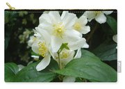 White Spring Blossom Carry-all Pouch