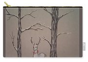 White Stag Carry-all Pouch by Ginny Youngblood
