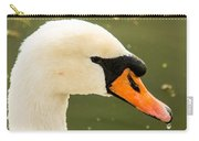 White Swan Profile Carry-all Pouch