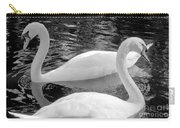 White Swans Carry-all Pouch