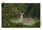 White-tail Buck Through The Trees Carry-all Pouch