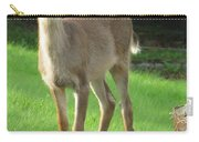 White-tail Fawn Carry-all Pouch