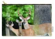 White-tailed Deer Family Carry-all Pouch