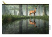 White Tailed Deer Reflected Carry-all Pouch