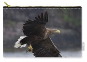 White-tailed Eagle Against Cliffs Carry-all Pouch