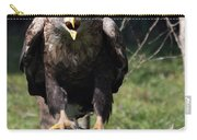 White Tailed Eagle Screaming Nature Wildlife Scene Carry-all Pouch