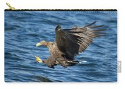 White-tailed Eagle Taking Fish Carry-all Pouch