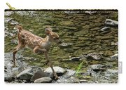 White-tailed Fawn At Vichy Springs Resort In Ukiah Carry-all Pouch