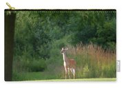 White Tailed Carry-all Pouch