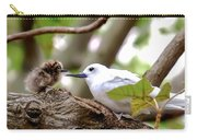 White Terns Koa And Parent...bird Love Carry-all Pouch