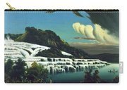 White Terraces, Rotomahana, By William Binzer. Carry-all Pouch