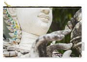White Thai Statue Carry-all Pouch