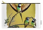 White Throated Bee Eater Pf Carry-all Pouch