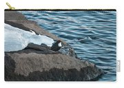 White-throated Dipper Nr 4 Carry-all Pouch