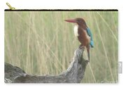 White Throated Kingfisher Carry-all Pouch