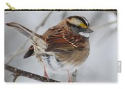 White Throated Sparrow 2 Carry-all Pouch