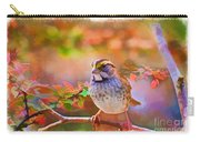 White Throated Sparrow - Digital Paint 3 Carry-all Pouch